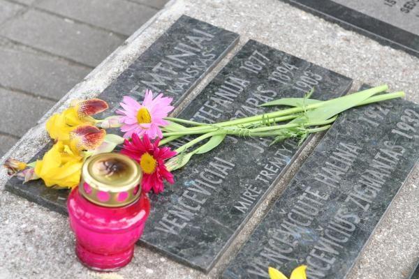 Minint sovietų okupacijos 70-metį, pagerbta pirmoji jos auka Lietuvoje