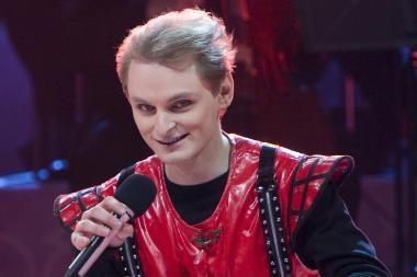 """TV3 """"Šeimų dainose"""" teisėjaus L.Mikalauskas, S.Povilaitis ir D.Beinarytė"""