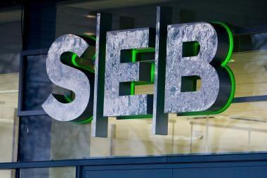 SEB banko nuostoliai pernai siekė 1,5 mlrd. litų