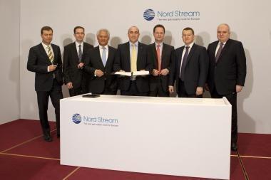 """""""Nord Stream"""" sudarė sutartis su bankais dėl antrojo etapo finansavimo"""