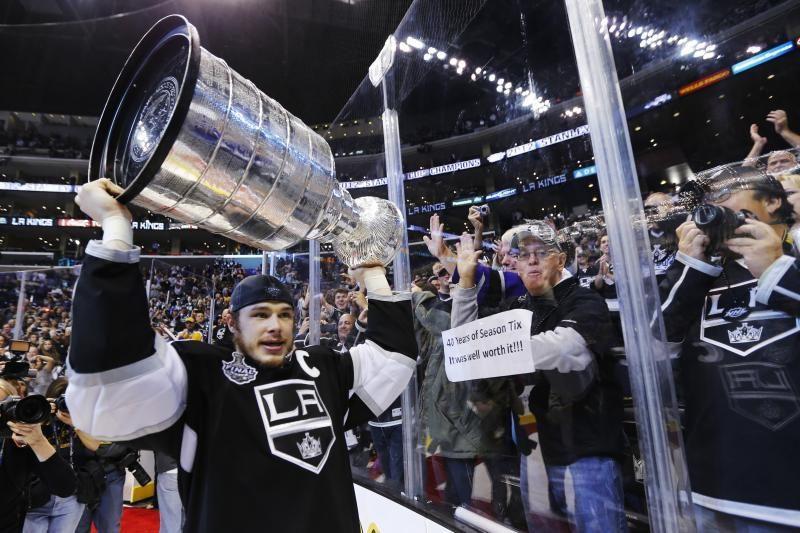 """""""Kings"""" pirmą kartą istorijoje iškovojo Stenlio taurę"""