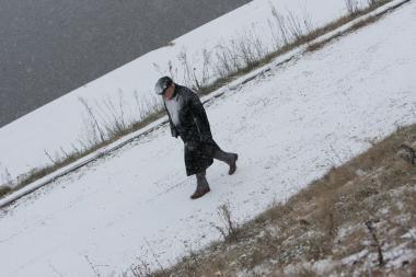 Vilniaus rajone mirė sušalęs vyras