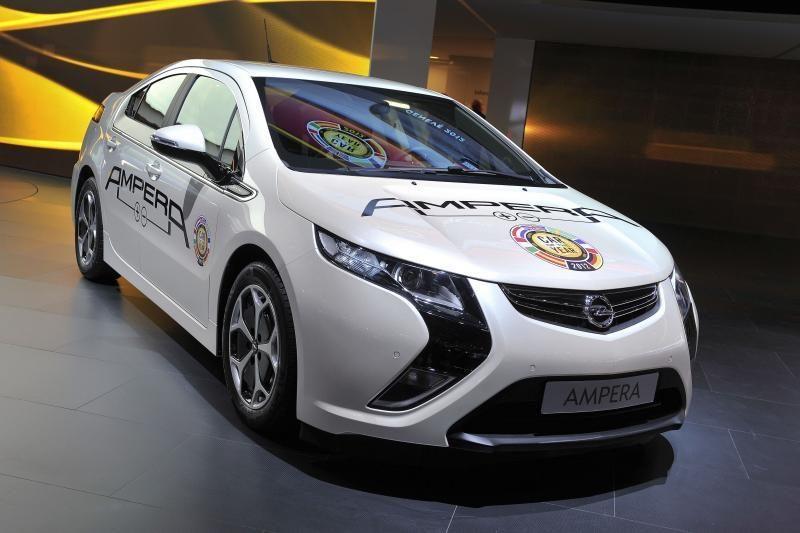 """""""Opel Ampera"""" paskelbtas populiariausiu elektromobiliu Europoje"""