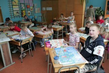 Šaltukas uostamiečio mokinių neišgąsdino