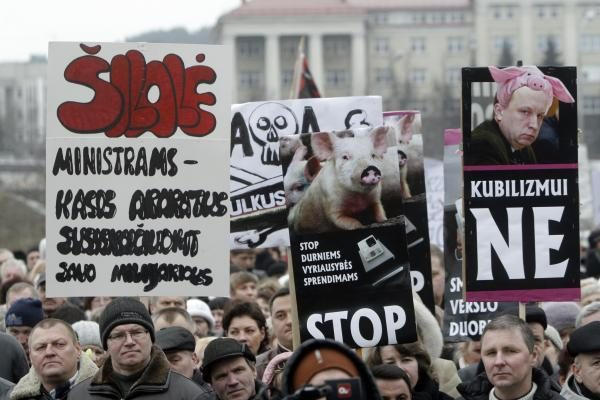 A.Kubilius: turgininkai vietoj dialogo renkasi demonstracijas
