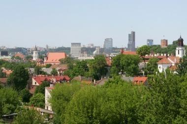 Vilnius rašytojų akimis: J.Kunčinas