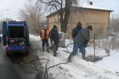 Joniškės gatvėje – vandentiekio avarija (papildyta)