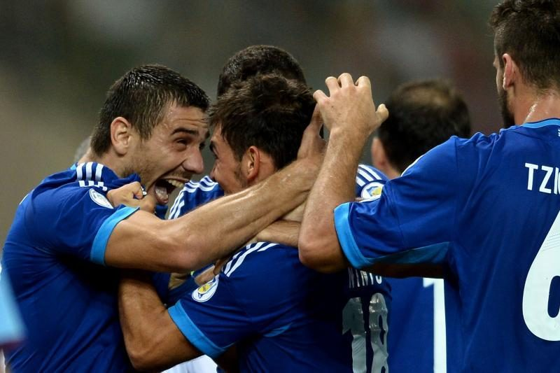 Atrankos rungtynėse lietuviai pralaimėjo Graikijos futbolininkams 0:2