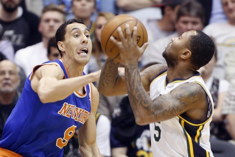 """""""Jazz"""" svilina padus """"Lakers"""" žvaigždynui dėl patekimo į kitą etapą"""