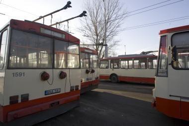 Vilniaus autobusuose ir troleibusuose - informacija užsienio kalbomis