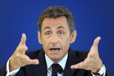 Nešvaraus finansavimo skandalas brangiai kainuos Prancūzijos prezidentui