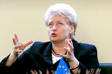 D.Grybauskaitė prakalbo apie ES biudžeto reformą