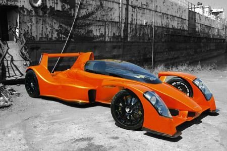 """""""Caparo T1"""" – greičiausias planetoje serijinis automobilis"""