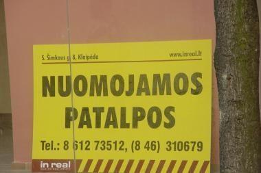 Patalpų nuoma Klaipėdoje: kokios kainos?