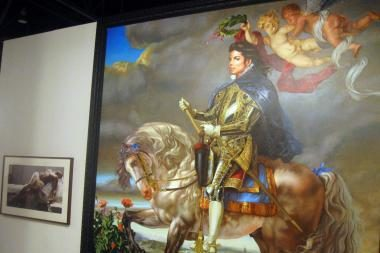 Michelio Jacksono privačioje kolekcijoje - beprotiški paveikslai
