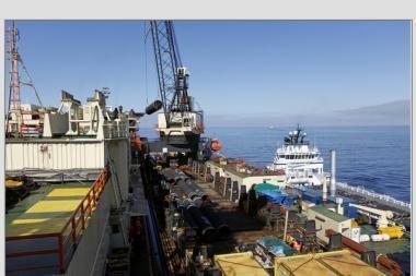 """Latvija nagrinėja """"Nord Stream"""" dujotiekio įtaką šalies saugumui"""