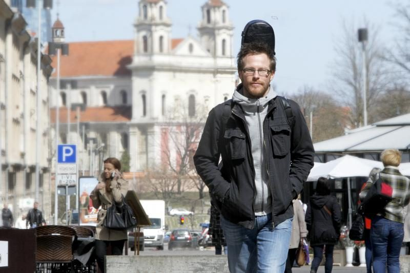 Muzikantas iš Belgijos prisijaukino Vilnių