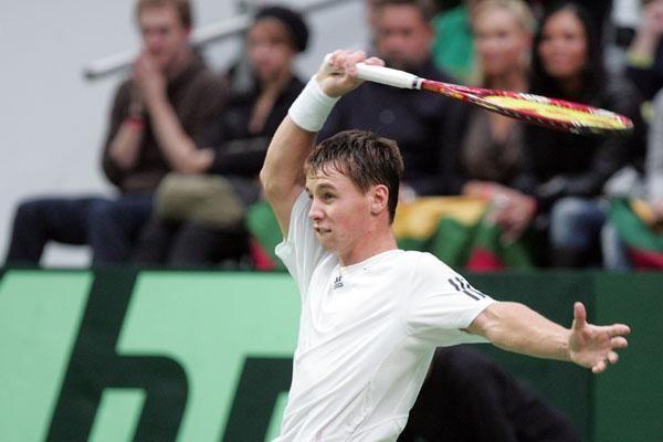 R.Berankis - tarptautinio turnyro Helsinkyje pusfinalyje