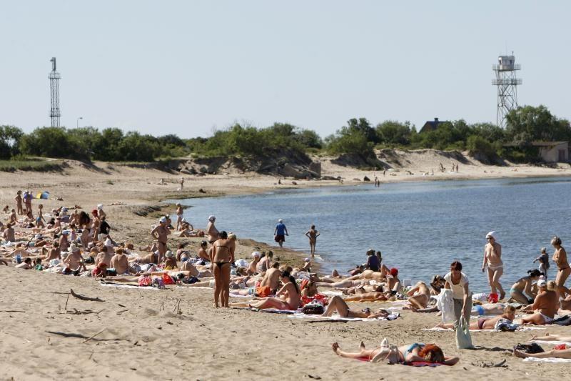 Gelbėtojai: pavojingiausias paplūdimys – I Melnragėje