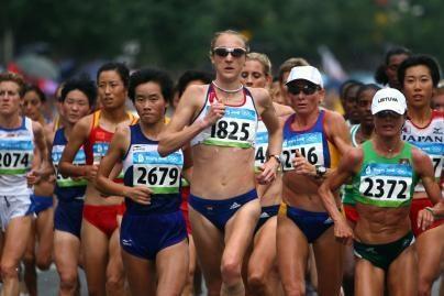 Maratonininkė Ž.Balčiūnaitė laimėjo 11-tą vietą