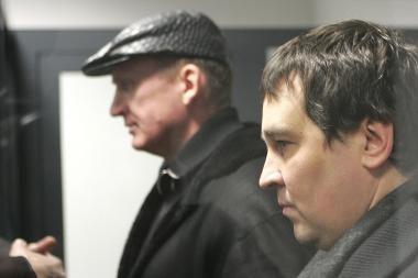 Įtariami reketininkai Rublis ir Ilgas lieka už grotų