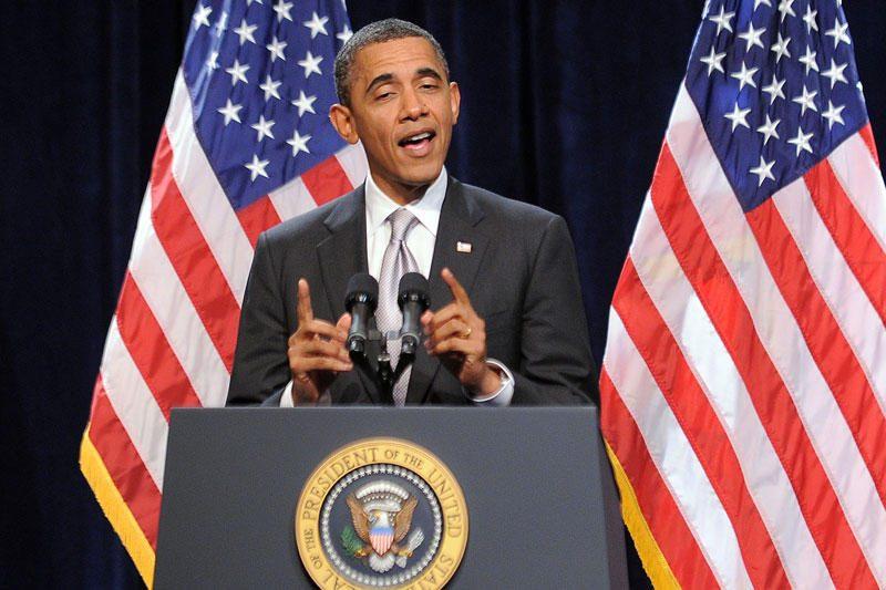 """B.Obamos komentaras apie """"lenkų mirties stovyklą"""" sukėlė sąmyšį"""
