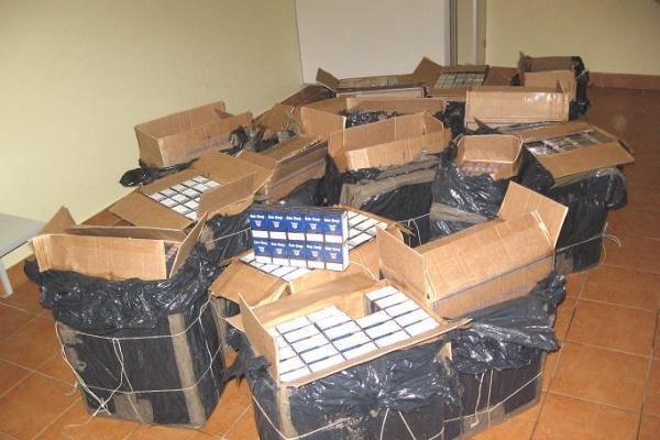Trakų rajone sulaikytas didelis kontrabandos krovinys ir šeši asmenys