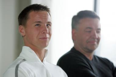 Lietuvos tenisininkai tikisi britus palaužti vienetų varžybose