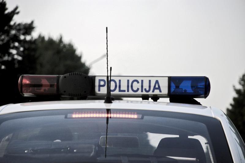 Prie Marijampolės automobiliui susidūrus su vilkiku, žuvo vyras