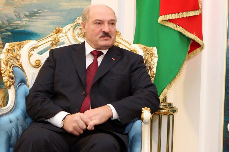 """A.Lukašenka: dėl """"pliušinio desanto"""" kalti pasieniečiai"""