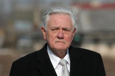 V.Adamkus: Lietuvos užsienio politikos dar nematau