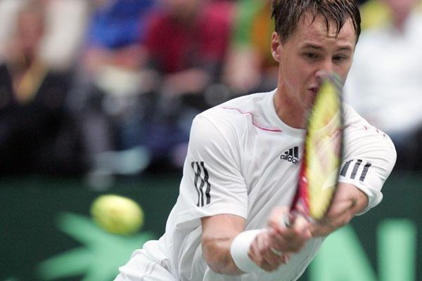 Ričardą Berankį nuo pagrindinio teniso turnyro Brisbane skiria viena pergalė