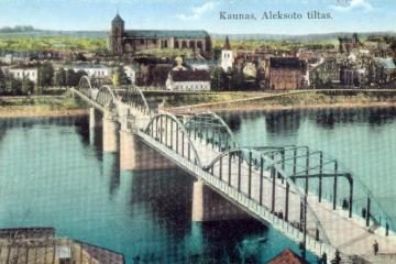 Kauno tiltų istorija - fotografijų parodoje