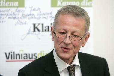 Aplinkos ministras G.Kazlauskas: posto nesilaikau (papildyta)