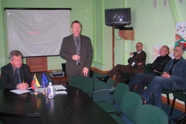 Rusnės specialiojoje mokykloje – šilčiau ir jaukiau