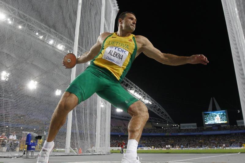 """IAAF """"Deimantinės lygos"""" varžybose V.Alekna užėmė 2-ą vietą"""