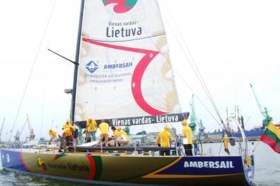 Lietuviai jachta plauks aplink pasaulį
