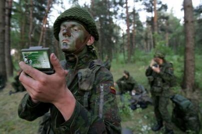 Lietuviai ir britai dalyvaus bendrose karinėse pratybose