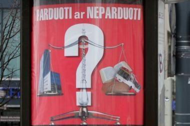 Vilniaus valdžia reklamuoja turto išpardavimą (papildyta)