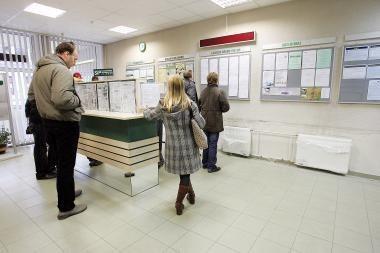 Bedarbių skaičius per savaitę išaugo ketvirtadaliu - iki beveik 9 tūkstančių