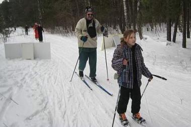 """""""Snaigės"""" žygį jau įveikė per 6 tūkst. slidininkų"""