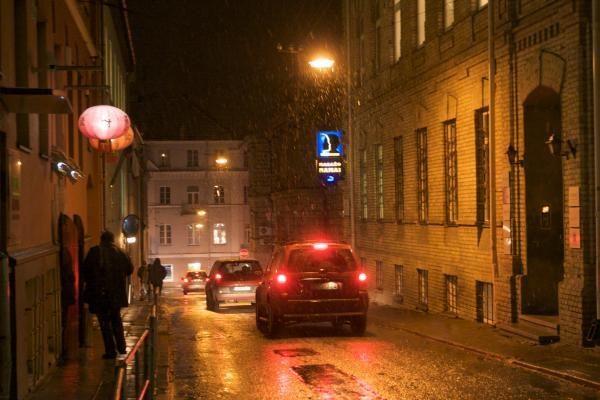 Vilnius rašytojų akimis: R.Gavelis (5)