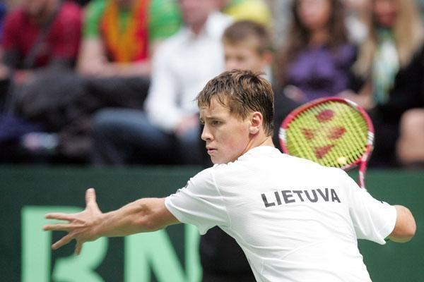 R.Berankis - tarptautinio vyrų teniso turnyro Helsinkyje ketvirtfinalyje