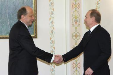V.Putinas dar nepasakė, ar atvyks į Vilnių (papildyta)