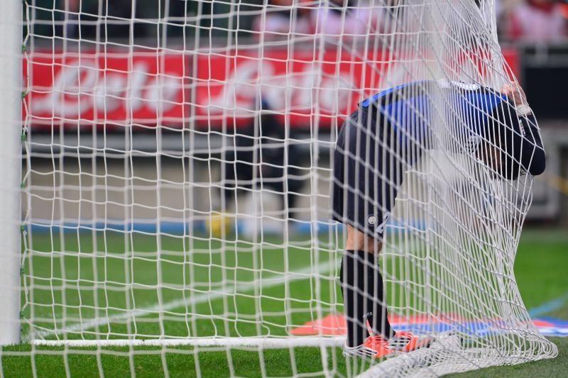 """Italijos serie A: """"Inter"""" prarado du taškus prieš lygos vidutiniokę"""