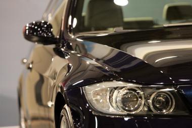 Konkurencijos prievaizdai važinėjosi prabangiu BMW
