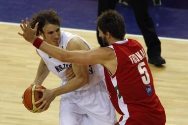 Naujoji Zelandija be gailesčio nušlavė Libano krepšininkus
