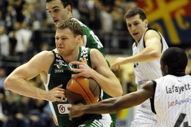 "Eurolyga: ""Partizan mt:s"" – ""Žalgiris"" 68:62"