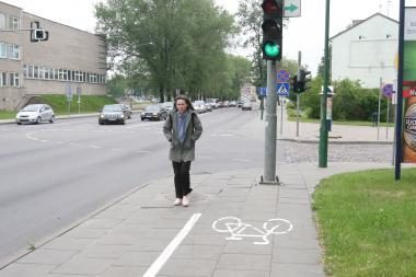 Pėsčiųjų ir dviratininkų karas persikėlė į Pilies gatvę