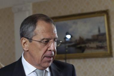 S.Lavrovas: į Pasaulinį čečėnų kongresą renkasi asmenys, kurių paskelbta tarptautinė paieška